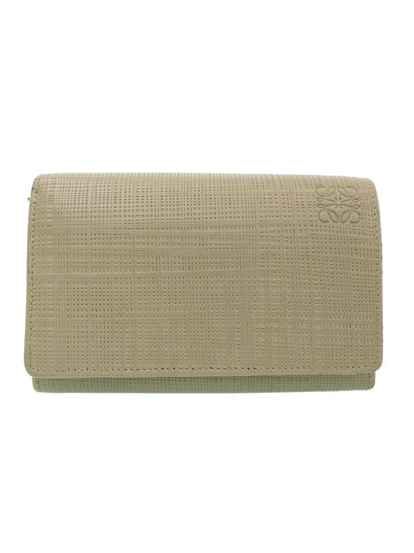 【LOEWE】ロエベ『二つ折り 財布』レディース 二つ折り財布 1週間保証【中古】