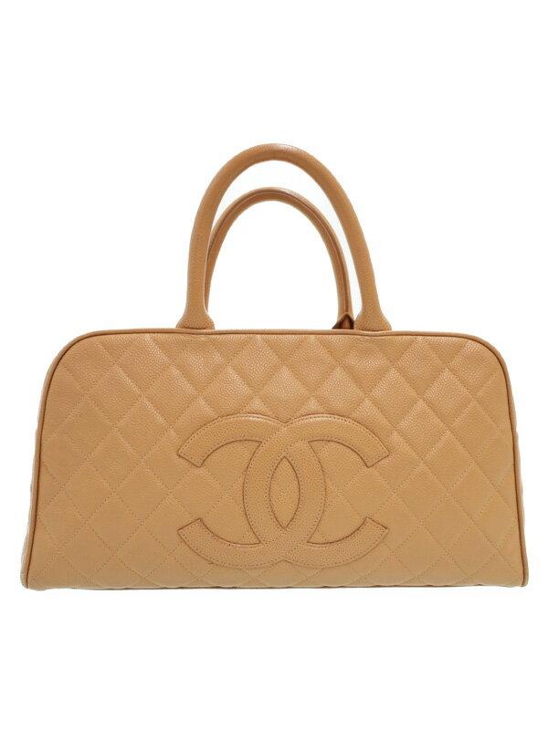 【CHANEL】【ゴールド金具】シャネル『マトラッセ ミニボストンバッグ』A20997 レディース ハンドバッグ 1週間保証【中古】
