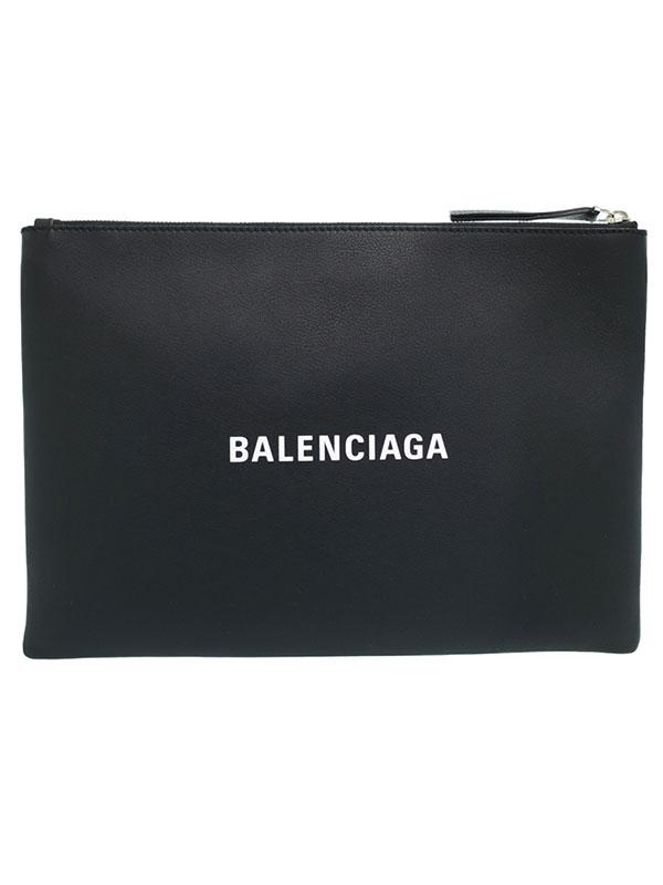 【BALENCIAGA】バレンシアガ『ショッピング クリップ M』485110 メンズ クラッチバッグ 1週間保証【中古】