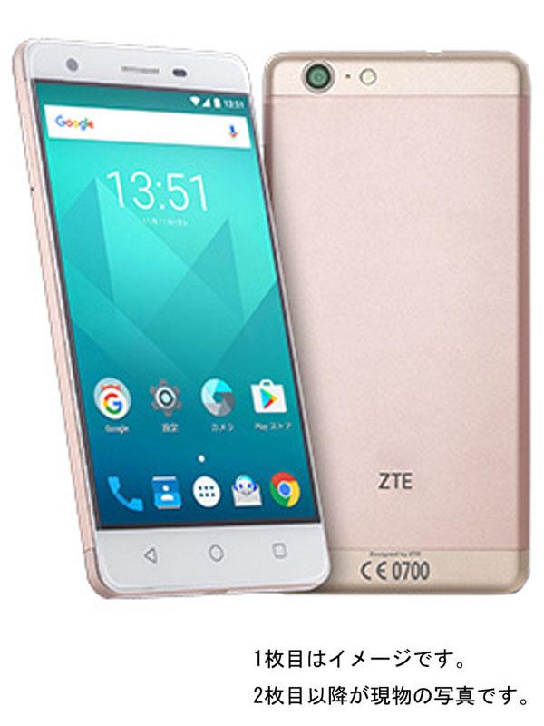 【ZTE】【UQモバイルのみ】『Blade V770 16GB UQモバイル ゴールド』ZTU31 2017年2月発売 スマートフォン 1週間保証【中古】