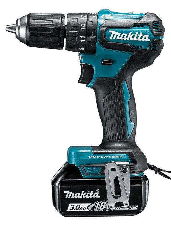 【makita】マキタ『充電式震動ドライバドリル』HP483DRFX 18V リチウムイオン3.0Ah×2 アプト ドリルドライバー 1週間保証【新品】
