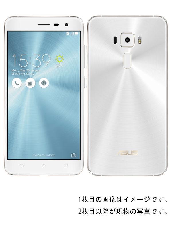エイスース『ASUS ZenFone 3 64GB SIMフリー パールホワイト』ZE552KL-WH64S4 2017年3月発売 スマートフォン 1週間保証【中古】