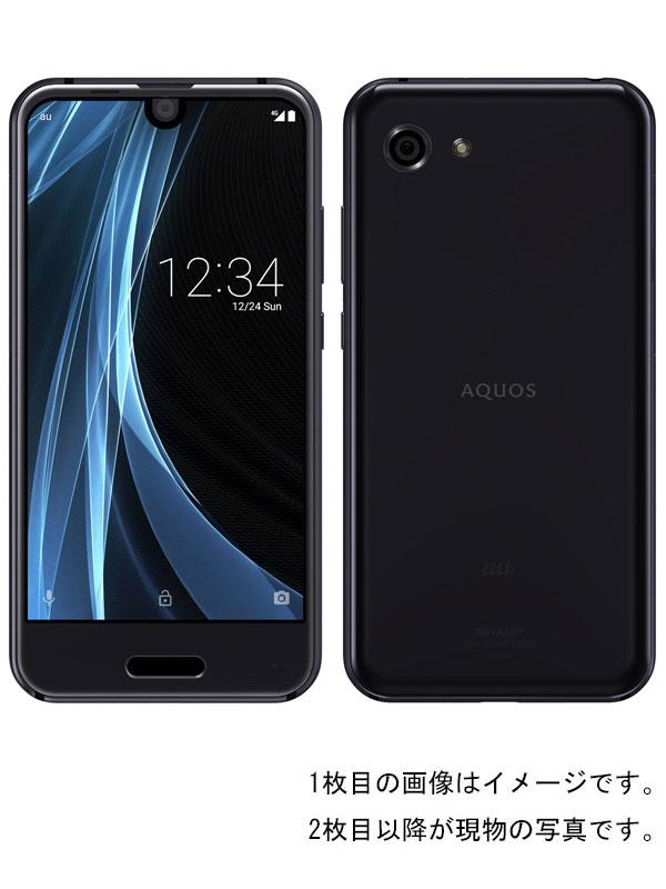 【SHARP】【アクオス】【auのみ】シャープ『AQUOS R コンパクト 32GB au メタルブラック』SHV41 2017年12月発売 スマートフォン 1週間保証【中古】