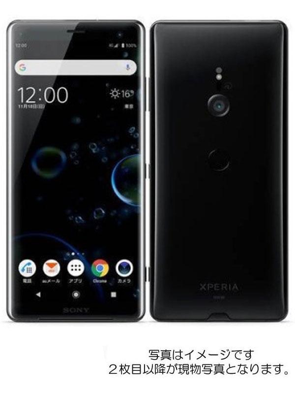 【SONY】【エクスペリア】【auのみ】ソニー『Xperia XZ3 64GB au ブラック』SOV39 2018年11月発売 スマートフォン 1週間保証【中古】