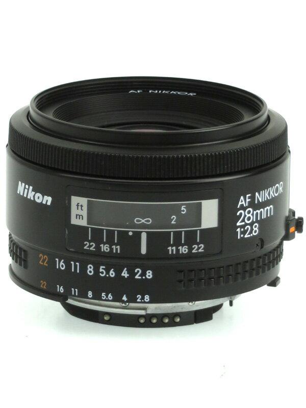 カメラ・ビデオカメラ・光学機器, カメラ用交換レンズ NikonAF Nikkor 28mm f2.8F 1b03eh08B