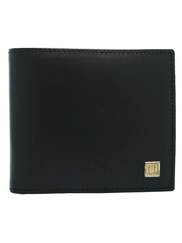 【dunhill】ダンヒル『コンフィデンシャルライン 二つ折り短財布』OR3070A メンズ 1週間保証【中古】