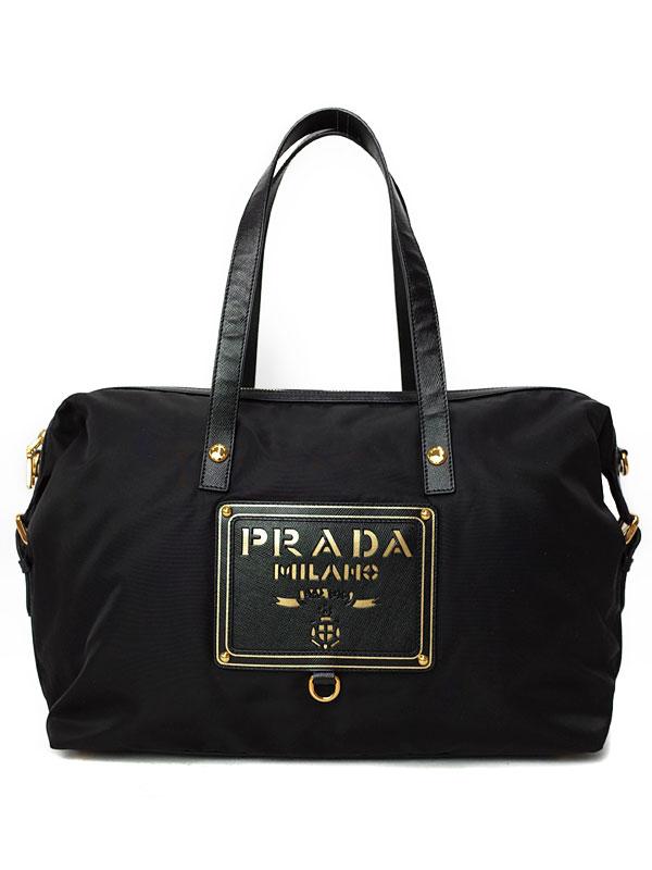 【PRADA】プラダ『ロゴ トートバッグ』BR4175 レディース 1週間保証【中古】