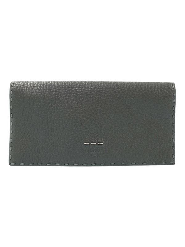 【FENDI】フェンディ『セレリア 二つ折り長財布』7M0186 メンズ 1週間保証【中古】