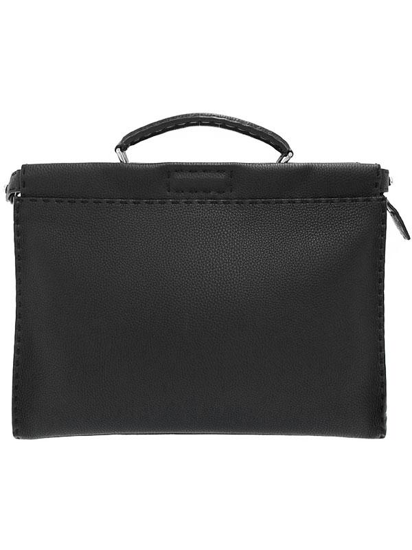 【FENDI】フェンディ『セレリア ピーカブー フィット』7VA406 ユニセックス ビジネスバッグ 1週間保証【中古】