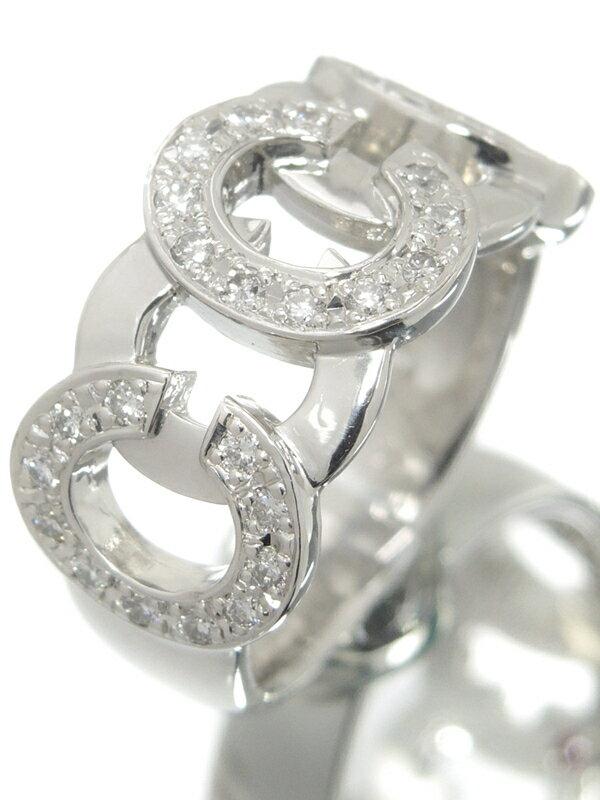 【CELINE】セリーヌ『PT900リング ルビー0.03ct ダイヤモンド0.41ct』13号 1週間保証【中古】