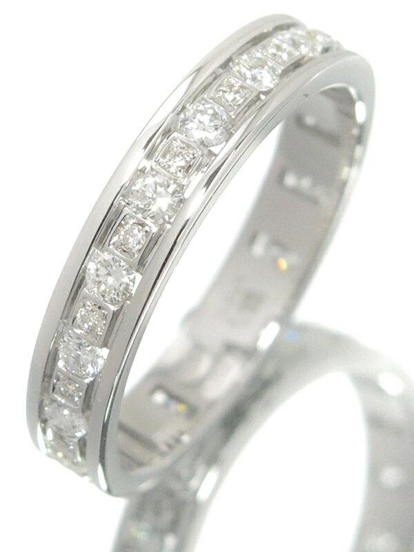 【DAMIANI】【BELLE EPOQUE】ダミアーニ『K18WG ベルエポック リング ダイヤモンド』10号 1週間保証【中古】