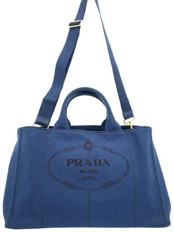 【PRADA】プラダ『カナパ 2WAYトートバッグ』B1872G レディース 2WAYバッグ 1週間保証【中古】