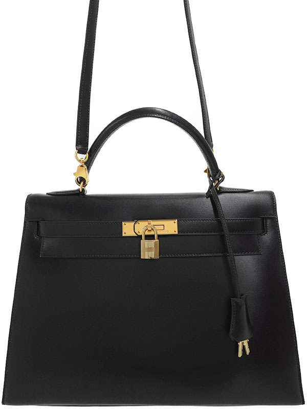 【HERMES】【ゴールド金具】エルメス『ケリー32 外縫い』A刻印 1997年製 レディース 2WAYバッグ 1週間保証【中古】