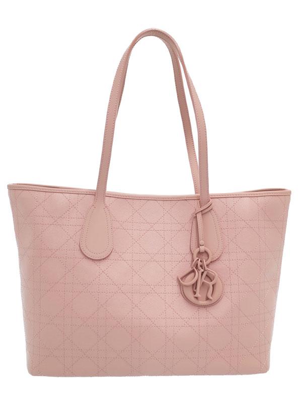 【Christian Dior】クリスチャンディオール『カナージュ トートバッグ』M1110 PPCP M363 レディース 1週間保証【中古】
