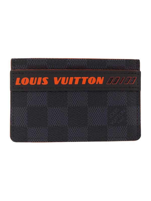 【LOUIS VUITTON】ルイヴィトン『ダミエ コバルト ポルトカルト サーンプル』N60242 メンズ カードケース 1週間保証【中古】