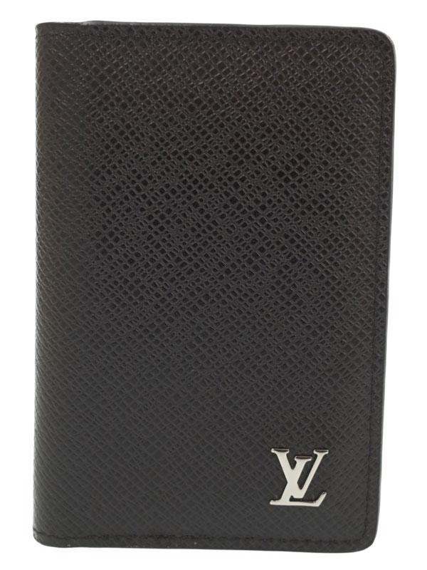 【LOUIS VUITTON】ルイヴィトン『タイガ オーガナイザー ドゥ ポッシュ』M30283 メンズ カードケース 1週間保証【中古】