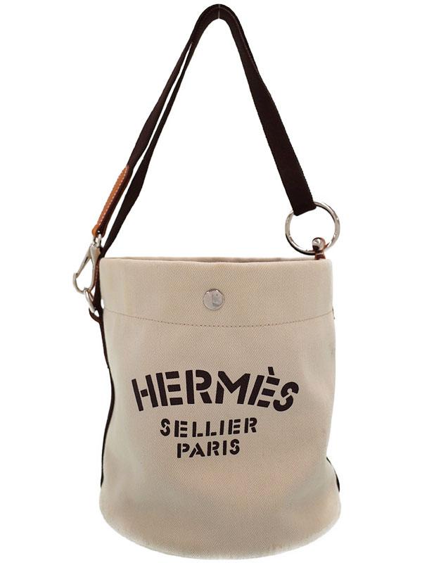 【HERMES】エルメス『サック ド パンサージュ』M刻印 2009年製 レディース 2WAYバッグ 1週間保証【中古】