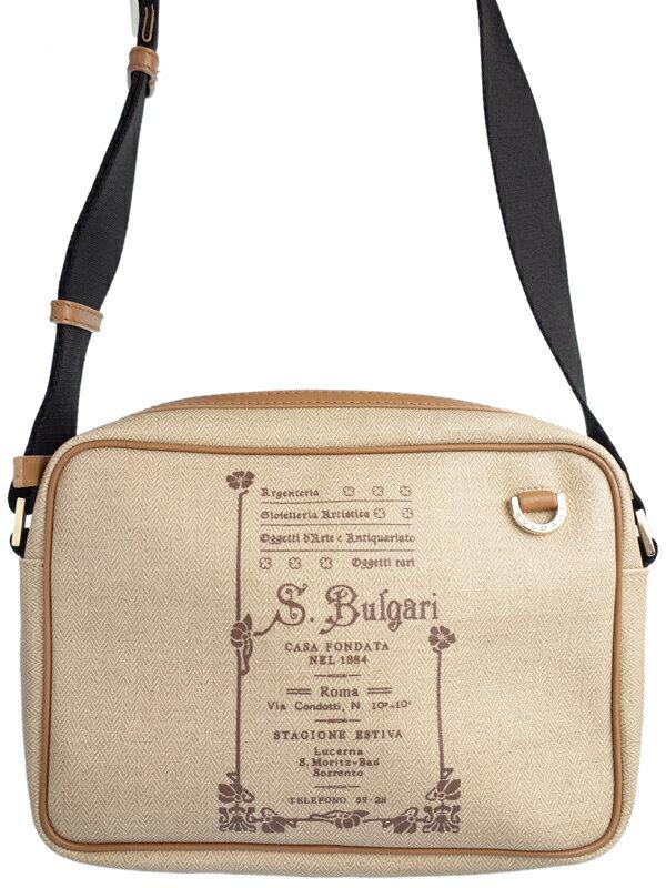 【BVLGARI】ブルガリ『コレツィオーネ ショルダーバッグ』32107 メンズ レディース 1週間保証【中古】