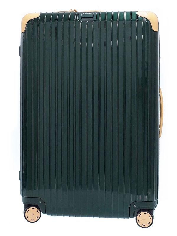 【RIMOWA】【TSAロック】リモワ『ボサノバ スーツケース 4輪』870.77.41 ユニセックス キャリーケース 1週間保証【中古】