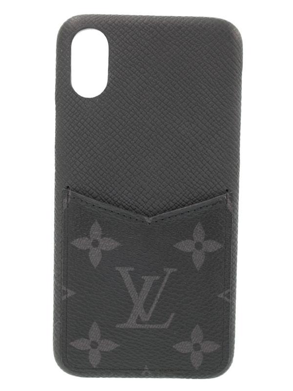 【LOUIS VUITTON】ルイヴィトン『モノグラム エクリプス IPHONE バンパー XS』M67806 メンズ レディース アイフォンケース 1週間保証【中古】