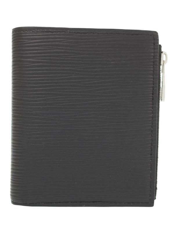 【LOUIS VUITTON】ルイヴィトン『エピ ポルトフォイユ スマート』M64007 メンズ 二つ折り短財布 1週間保証【中古】