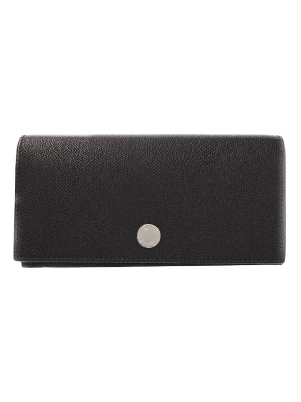【BVLGARI】ブルガリ『クラシコ 二つ折り長財布』27746 メンズ 1週間保証【中古】