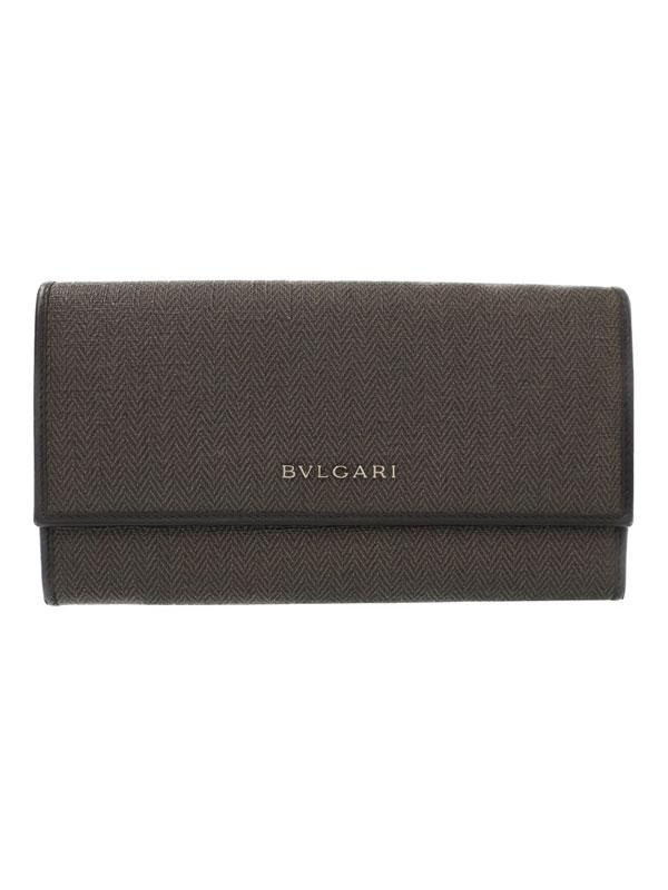 【BVLGARI】ブルガリ『ウィークエンド 二つ折り長財布』32585 メンズ 1週間保証【中古】