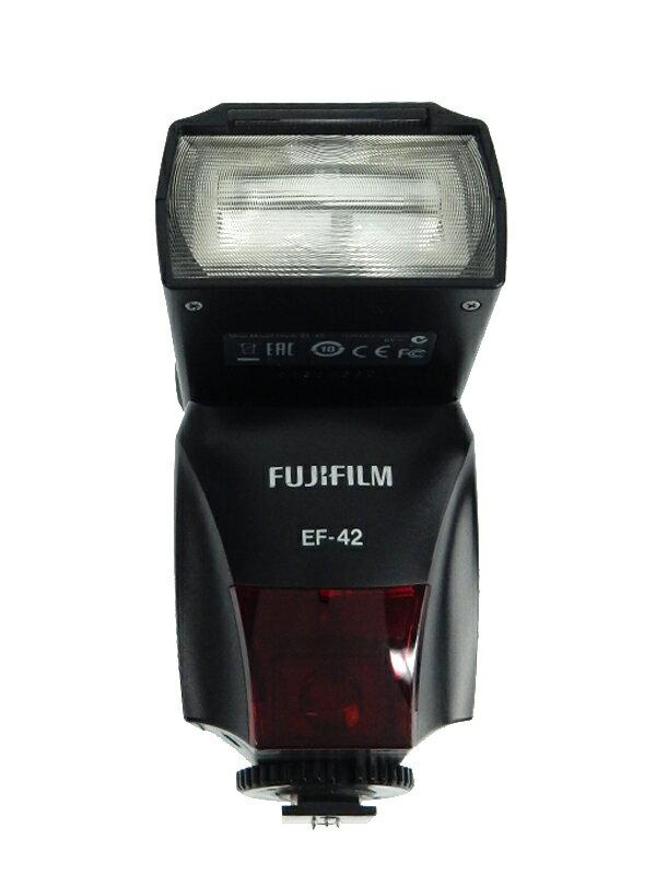 【FUJIFI】フジフィルム『フラッシュ クリップオンフラッシュ』X100用 TTL型外部フラッシュ EF-42 ストロボ 1週間保証【中古】