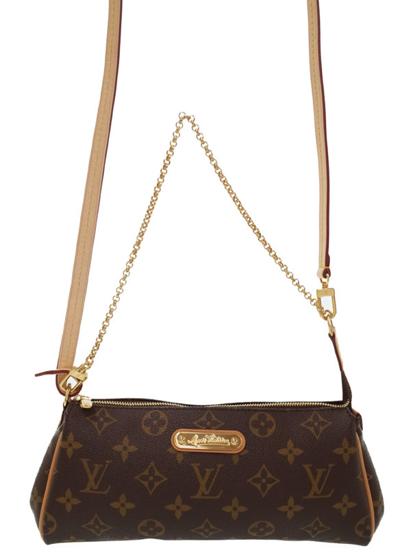 【LOUIS VUITTON】【made in U.S.A】ルイヴィトン『モノグラム エヴァ』M95567 レディース 2WAYバッグ 1週間保証【中古】