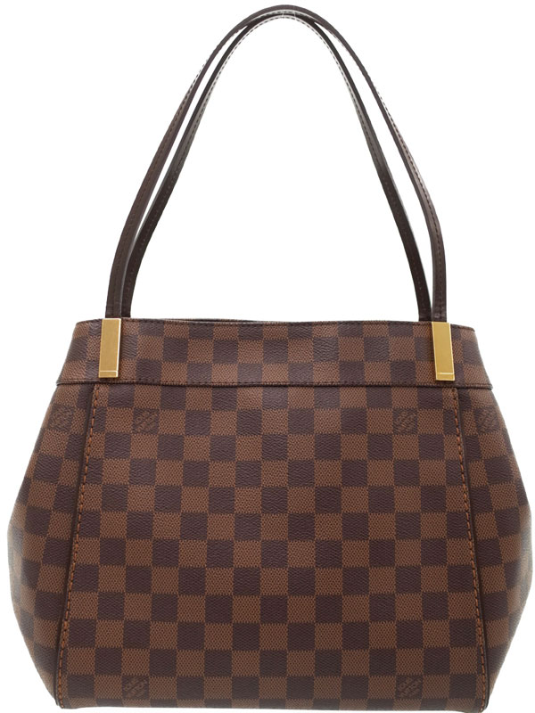 【LOUIS VUITTON】ルイヴィトン『ダミエ マーリボーンPM』N41215 レディース トートバッグ 1週間保証【中古】