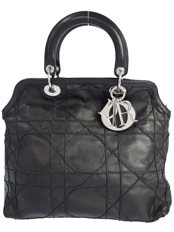 【Christian Dior】クリスチャンディオール『グランヴィル ハンドバッグ』レディース 1週間保証【中古】