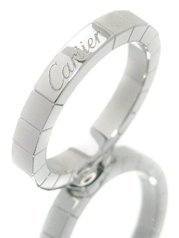 【Cartier】カルティエ『K18WG ラニエール リング』9.5号 1週間保証【中古】