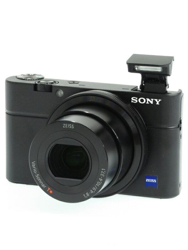 【SONY】ソニー『Cyber-shot(サイバーショット) RX100』DSC-RX100 2020万画素 28-100mm相当 フルHD動画 コンパクトデジタルカメラ 1週間保証【中古】