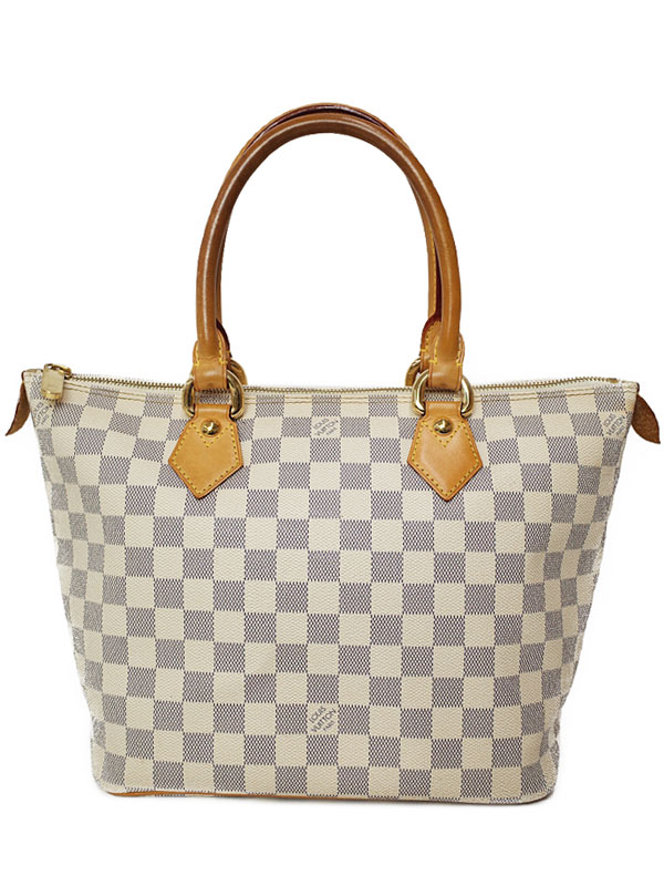 【LOUIS VUITTON】ルイヴィトン『ダミエ アズール サレヤPM』N51186 レディース トートバッグ 1週間保証【中古】
