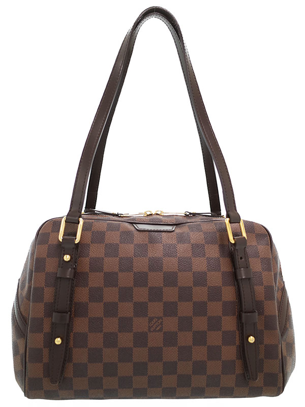 【LOUIS VUITTON】ルイヴィトン『ダミエ リヴィントン GM』N41158 レディース ショルダーバッグ 1週間保証【中古】