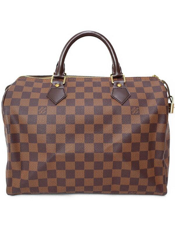 【LOUIS VUITTON】ルイヴィトン『ダミエ スピーディ30』N41531 レディース ハンドバッグ 1週間保証【中古】