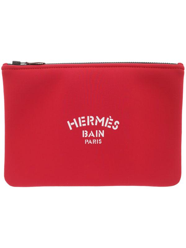 【HERMES】エルメス『ネオバン ジャガー フラットポーチ MM』H103160 メンズ レディース 1週間保証【中古】
