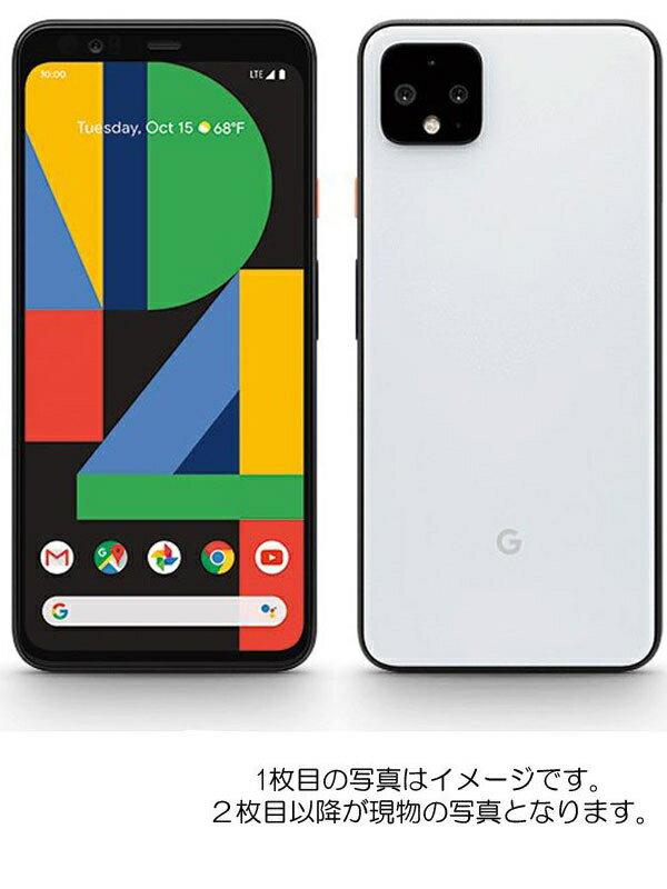 グーグル『Google Pixel 4 64GB SIMフリー ホワイト』スマートフォン 1週間保証【中古】