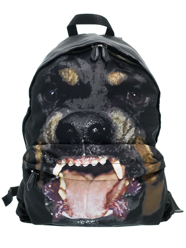 【GIVENCHY】ジバンシィ『犬柄 リュックサック』メンズ バックパック 1週間保証【中古】