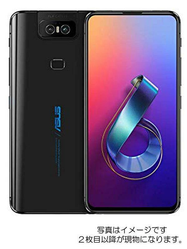 【未開封品】エイスース『ASUS ZenFone 6 ミッドナイトブラック 256GB SIMフリー』ZS630KL-BK256S8 2019年8月発売【中古】