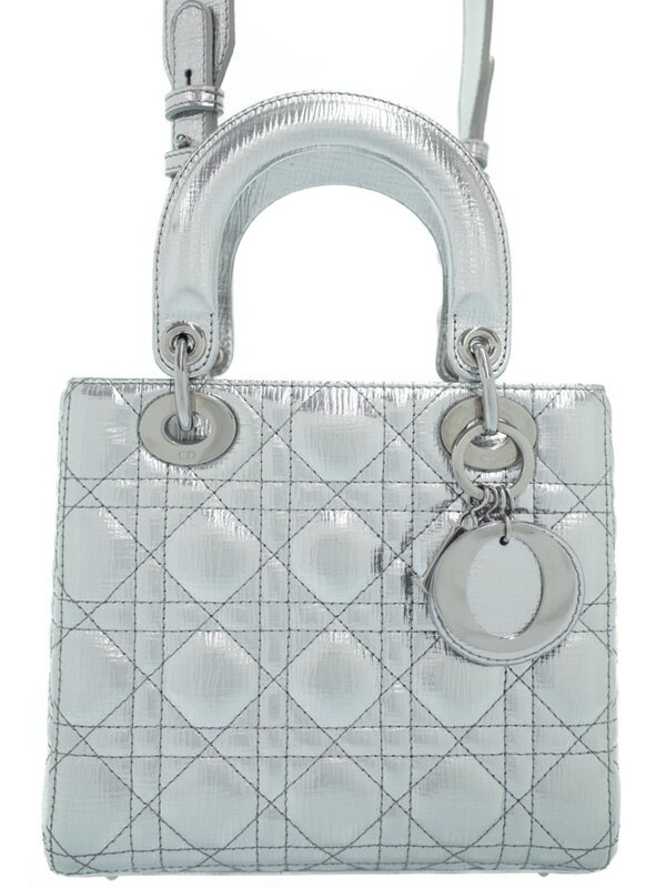 【Christian Dior】クリスチャンディオール『マイレディディオール 2WAYハンドバッグ』M0532PNFA レディース 2WAYバッグ 1週間保証【中古】