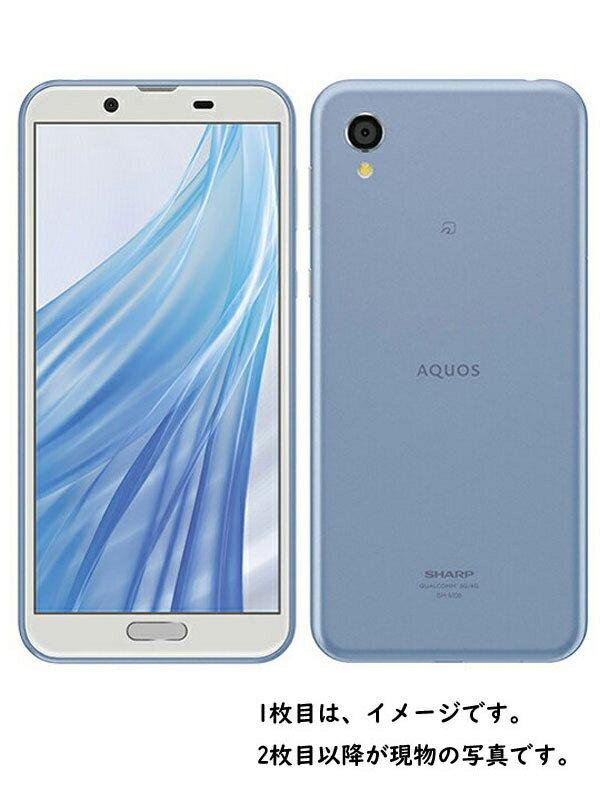 【SHARP】【アクオス】シャープ『AQUOS sense2 SIMフリー 32GB アーバンブルー』SH-M08【中古】