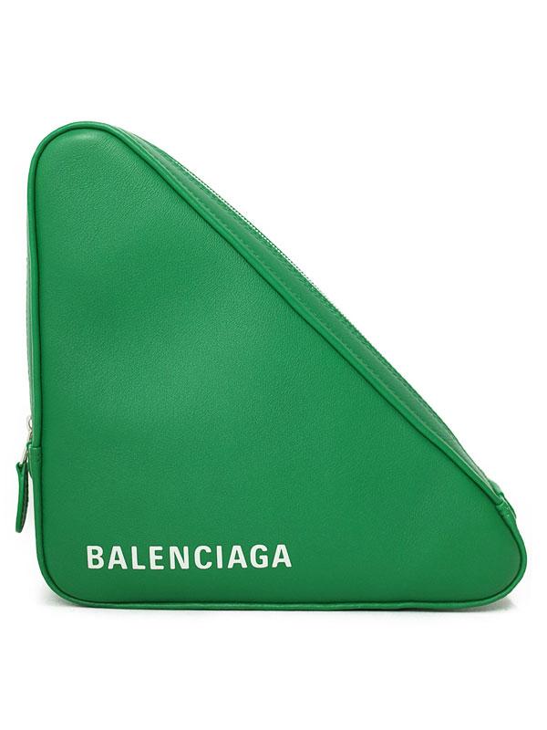 【BALENCIAGA】バレンシアガ『トライアングル ポーチM』476976 レディース 1週間保証【中古】