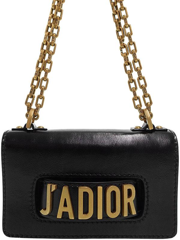 【Christian Dior】クリスチャンディオール『J'ADIOR ミニ ショルダーバッグ』M9002 CLLM レディース 1週間保証【中古】