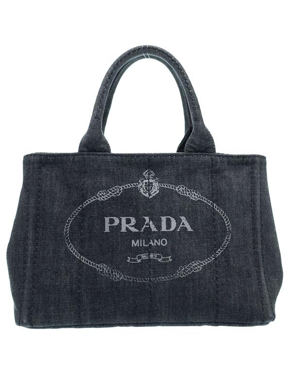 【PRADA】プラダ『ミニカナパ ハンドバッグ』1BG439 レディース 1週間保証【中古】