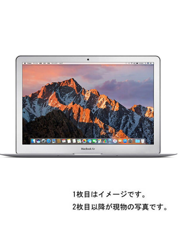 【Apple】アップル『MacBook Air 1600/13.3 Early2015』MMGF2J/A ノートパソコン 1週間保証【中古】