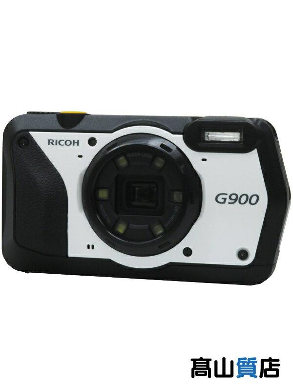 【RICOH】リコー『防水 防塵 業務用デジタルカメラ』G900 広角28mm 防水 耐衝撃 防塵 耐薬品性 現場モデル 1週間保証【新品】