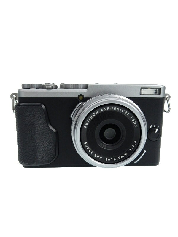 【FUJIFILM】富士フイルム『FUJIFILM X70 シルバー』F X70-S 1630万 APS-C Wi-Fi デジタルカメラ 1週間保証【中古】