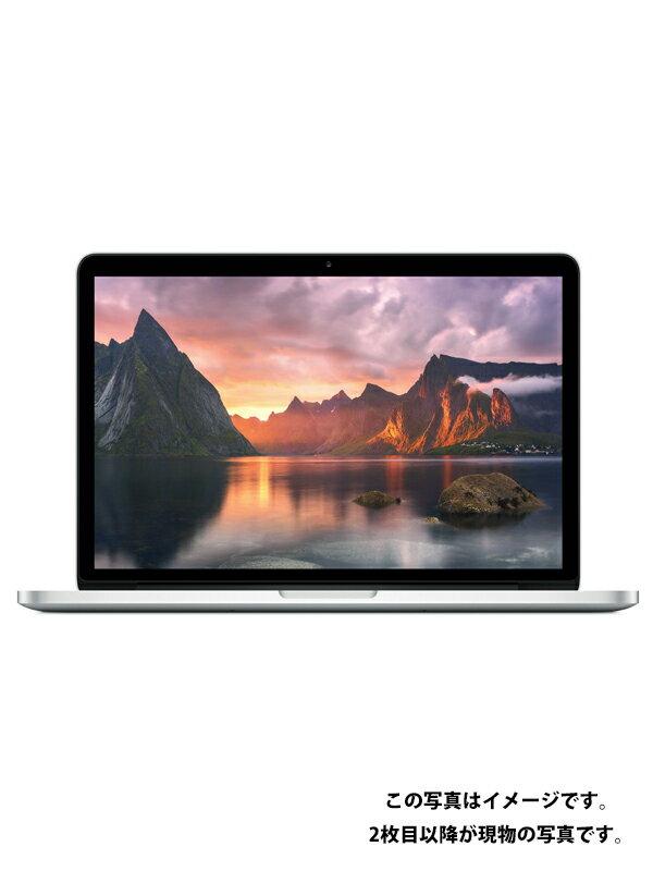 【Apple】【USキーボード仕様】アップル『MacBook Pro Retina 13.3-inch Mid 2014』MGX82J/A ノートパソコン 1週間保証【中古】
