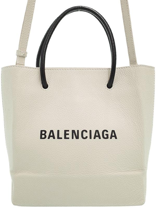 【BALENCIAGA】バレンシアガ『ショッピング トートXXS』555140 レディース 2WAYバッグ 1週間保証【中古】